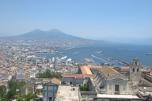 Vista aérea de Napoli
